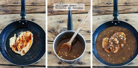 Pollo Salsa Balsamico Prep