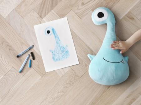 Ikea Softtoys Sagoskatt Monstruoazul