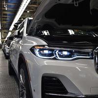 El futuro BMW X7 se prepara para producción: las primeras unidades preserie salen de la fábrica
