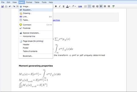 Novedades en Google Docs enfocadas al uso académico