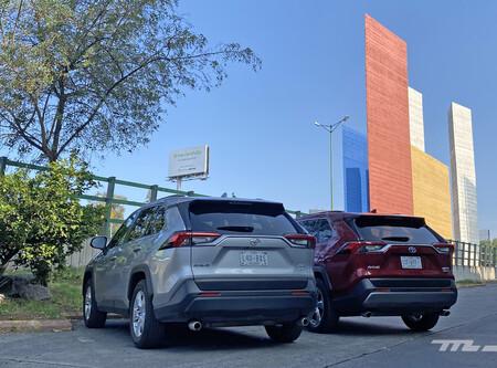 Consumo híbrido Toyota RAV4 México 1 6