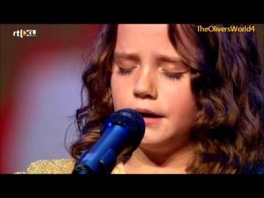 Niña de 9 años deja impresionado al jurado con su voz