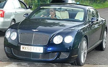 El mercadillo de coches de Cristiano Ronaldo
