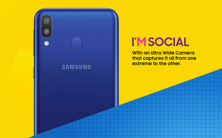 Samsung Galaxy M Oficial Camara
