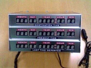 La máquina del tiempo de Regreso al futuro a la venta