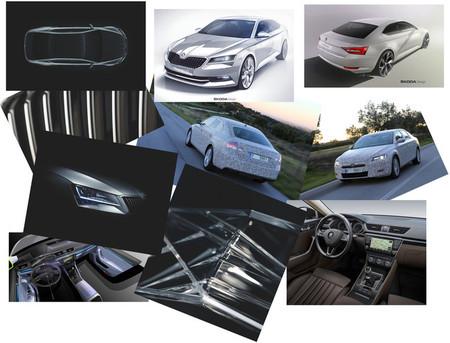 """Los """"pequeños detalles"""" que cambian en el nuevo Škoda Superb"""