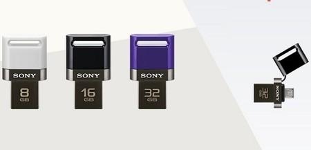 Sony anuncia su primer USB 2-en-1 compatible con tablets y smartphones