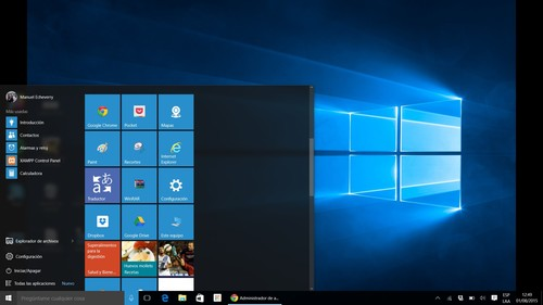 Nuestra Experiencia de uso de Windows 10