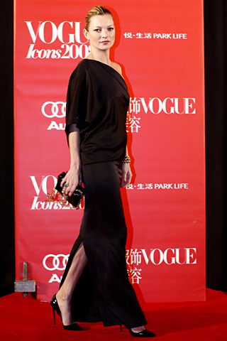 Kate Moss recibe el premio Fashion Icon de Vogue China