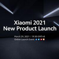 Xiaomi anuncia una nueva presentación el 29 de marzo: el 'mega lanzamiento de Xiaomi'
