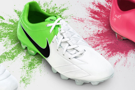 The Nike Clash Collection verde