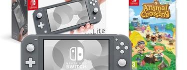 El juego de moda, Animal Crossing: New Horizons, sólo te costará 10 euros si lo compras junto a la Nintendo Switch Lite en MediaMarkt, por 229 euros
