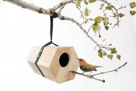 Neighbirds, modernas casitas de pájaro para alojar a los inquilinos de tu jardín