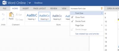 """¿Como funcionará el futuro asistente """"Tell Me"""" de Office 16? La respuesta ya está en Office Online"""