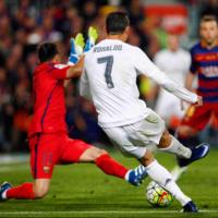 El clásico se vivió con Cristiano Ronaldo en calzoncillos