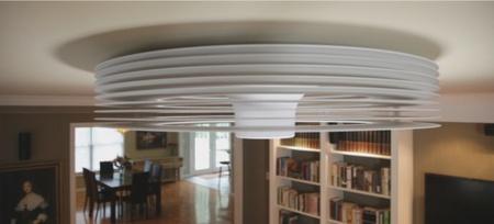 Bladeless Exhale, el ventilador de techo que a muchos nos gustaría tener