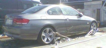 Nuevas fotos espía del BMW Serie 3 Coupé