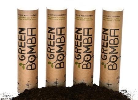 Greenbomba: bolas de arcilla y semillas