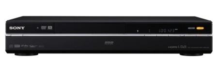 Grabadores de DVD con disco duro de Sony