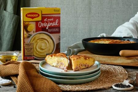 Tortilla Rellena De Jamon Y Queso 3
