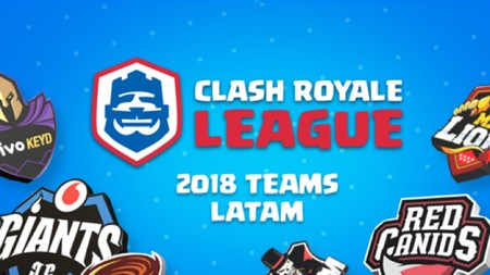 MAD Lions, Giants, Riders y Cream son aceptados en la Clash Royale League de América Latina