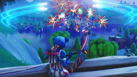 Guia Fortnite Lanza Fuegos Artificiales Temporada 7 Semana 4