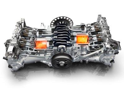 Siendo fiel a sus principios, Subaru lleva 50 años fabricando motores bóxer