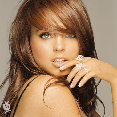 Lindsay Lohan la más sexy