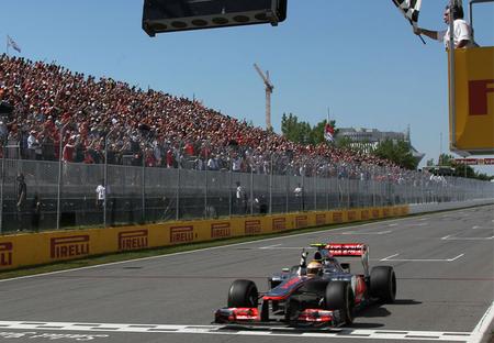 Lewis Hamilton gana un Gran Premio de Canadá electrizante