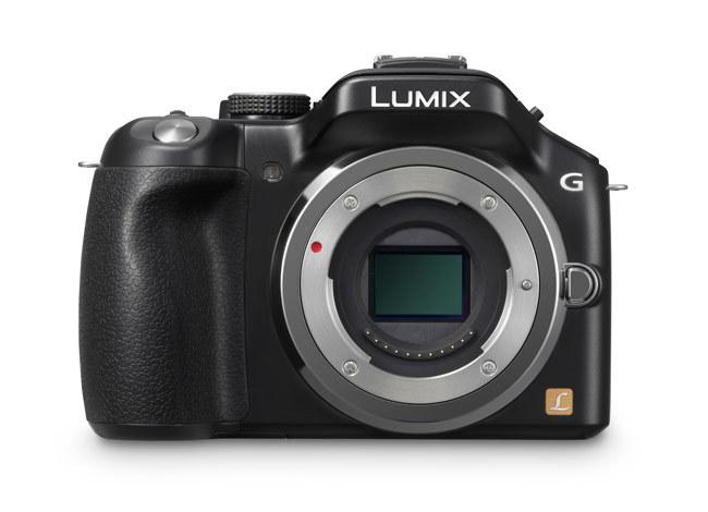 Lumix G5 de frente