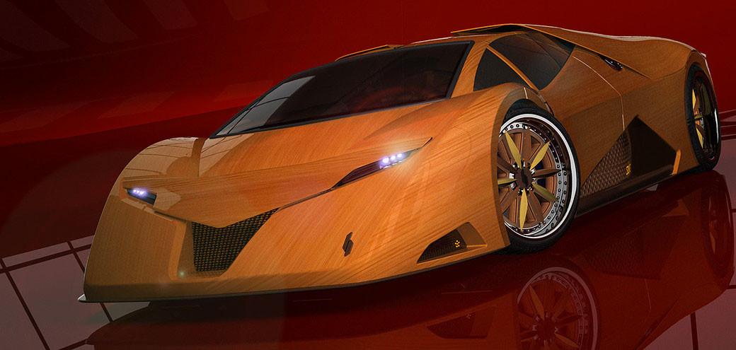 Foto de Splinter, el coche de madera (8/11)