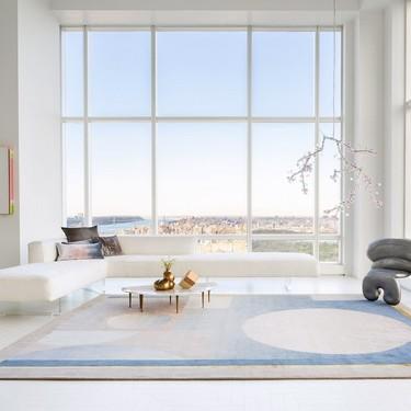 La diseñadora Kelly Behun se inspira en Manhattan para crear una colección de alfombras para The Rug Company