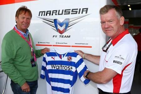 El Reading FC es el nuevo socio comercial de Marussia