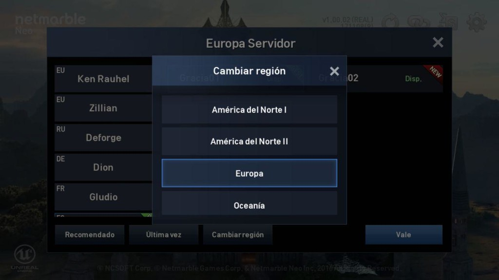 Lineage 2 Servidores