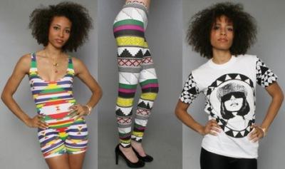 La cantante M.I.A. lanza nuevos diseños propios