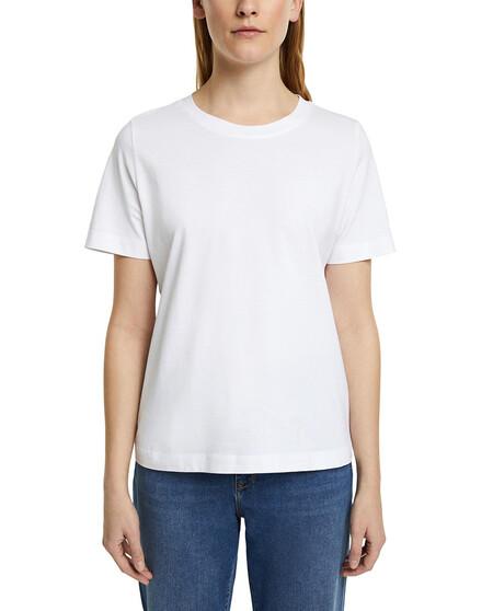 Camiseta De Mujer Basica De Algodon