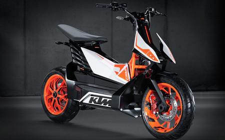 KTM presenta el prototipo de scooter eléctrico E-Speed