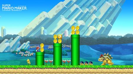 Mario Maker Wall