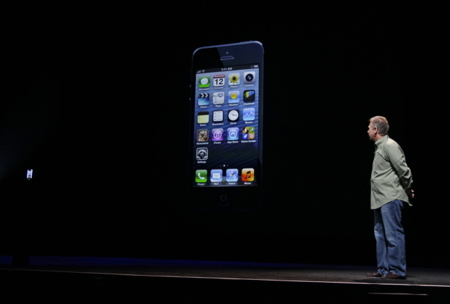 Phil Schiller iPhone 5 presentacion APS