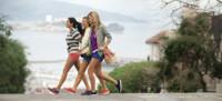 Zapatillas de paseo para ir cómoda en los viajes más intensos