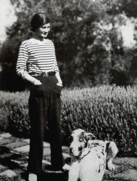 Gabrielle Chanel En Marinière