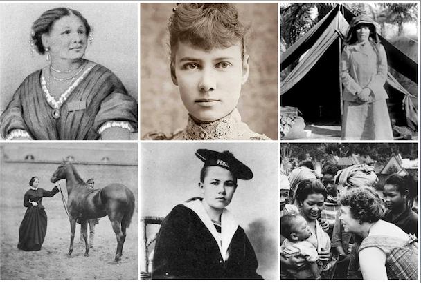 Ocho mujeres viajeras que han abierto muchos caminos