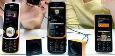 LG GM205 y GM210, completando la gama musical