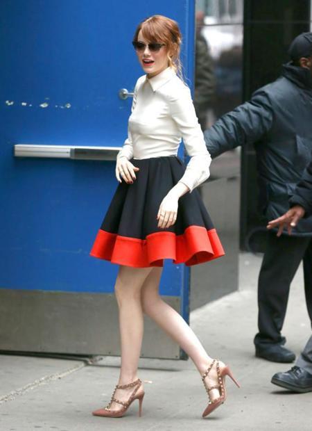 Duelo de Valentinos: ¿Emma Stone o Maria Menounos?