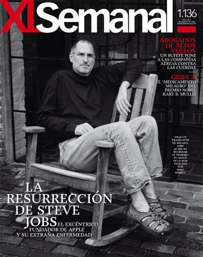Especial sobre el regreso de Steve Jobs en la revista on-line XLSemanal
