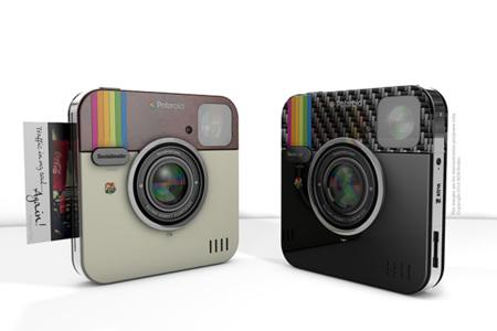 La Instagram Socialmatic Camera será una realidad con Polaroid