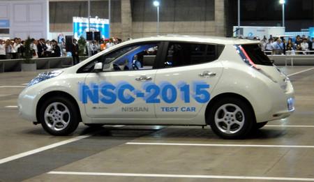 Conducción autónoma en el Nissan NSC 2015