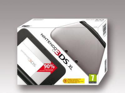 Nintendo 3DS XL por 149 euros en Pc Componentes