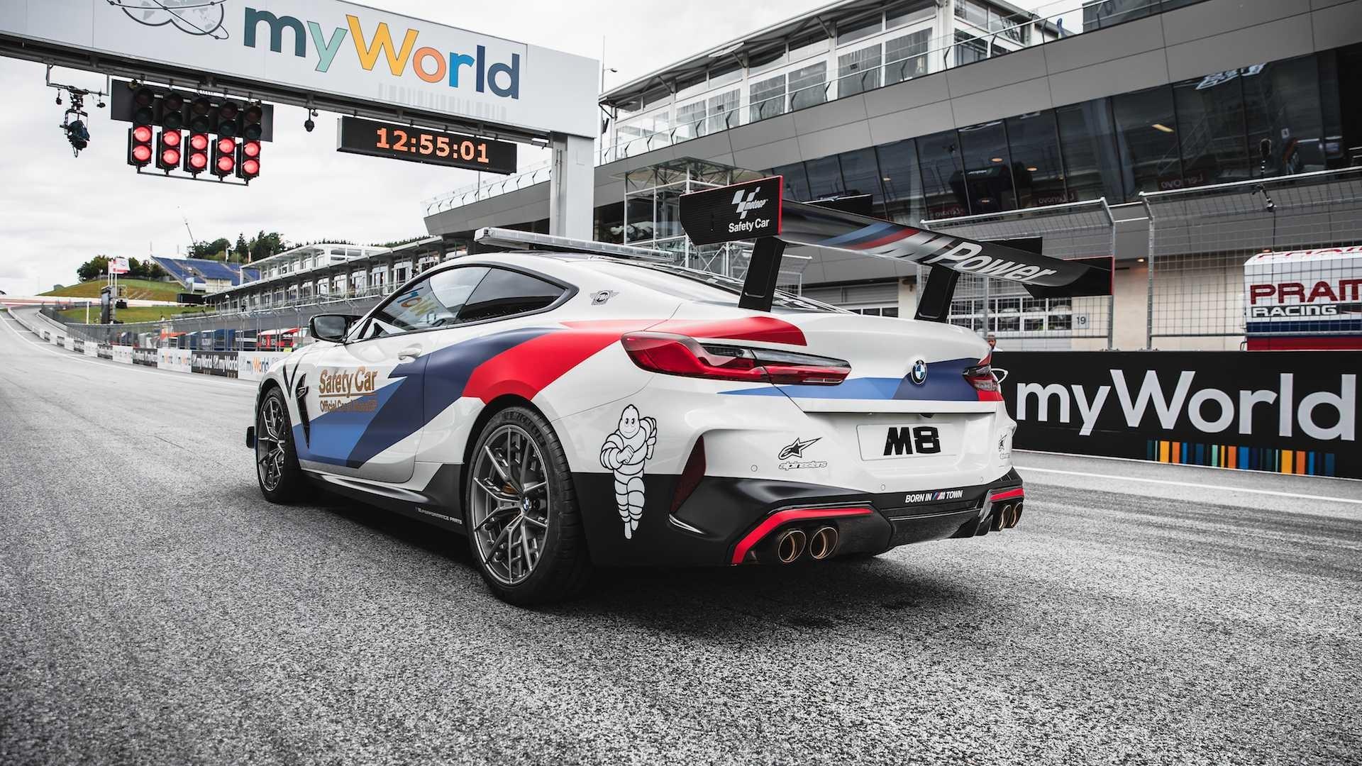 Foto de BMW M8 MotoGP Safety Car (5/8)