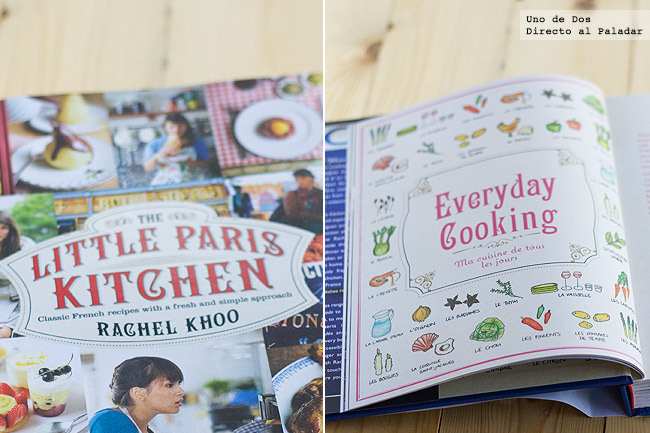 Libro de Rachel Khoo, The little paris kitchen